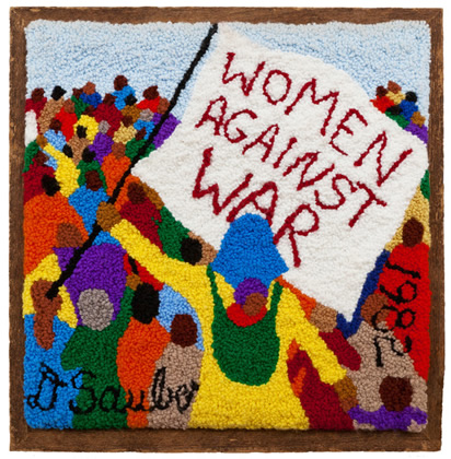 Women Against War by Dorothy Sauber
