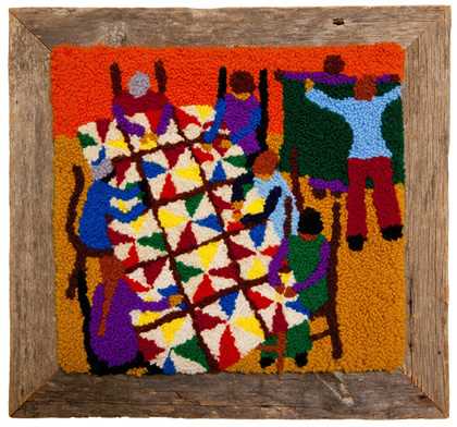 The Quilting Bee by Dorothy Sauber